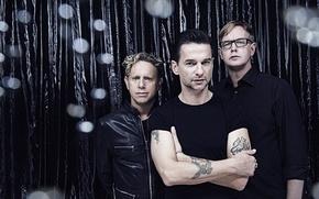 Picture music, black, men, david gahan, Andrew Fletcher, Martin Gore, David Gahan, Depeche Mode, Depeche Mode, …