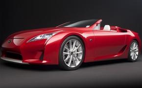 Picture Concept, Roadster, 2008, Lexus, Lexus, LFA