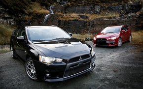Picture Nature, Mitsubishi, Lancer, Japan, Car, Lancer, Cars, Mitsubishi, Evolution X