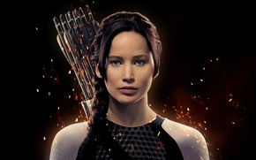 Picture Action, Sci-Fi, Exclusive, movies, The, Jennifer Lawrence, backround noun, gun, film, Games, Fantasy, The Hunger ...