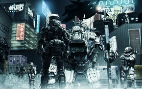 Picture soldiers, Atlas, Titanfall