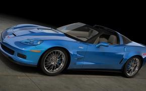 Picture graphics, Corvette, Chevrolet, art, ZR1, Sports car, General Motors, dangeruss, 2‑DV. coupe, 2‑places, rear-wheel drive, …
