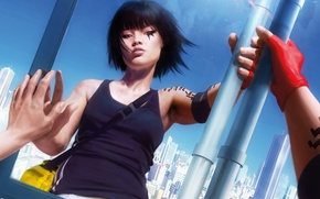 Picture the city, Girl, Mirror's Edge