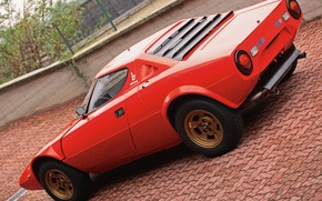Picture Lancia, 1973, Classic cars, Stratos, High Fidelity, Bertone, Marcello Gandini, Look on the back
