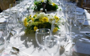 Picture flowers, design, the city, style, interior, devices, Switzerland, plates, City, white, old, Switzerland, tablecloth, Old, ...
