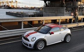 Picture road, Mini, port, Coupe, hatchback