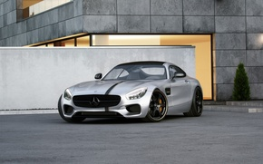 Picture Mercedes-Benz, Front, AMG, Wheelsandmore, Silver, Tuned, 600HP
