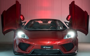 Picture lights, tuning, Spyder, the front, McLaren MP4-12C, FAB Design