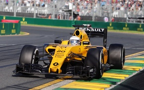Picture Reno, Formula 1, The front, Kevin Magnussen, Renauult