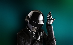 Wallpaper Thomas Bangalter, Helmet, Daft Punk