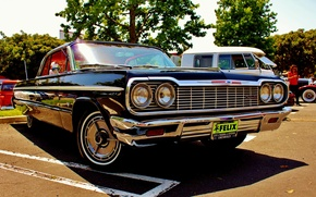 Picture Chevrolet, Classic, Chevy, Impala, Chevrolet, 64' Impala