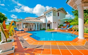 Picture house, Villa, pool