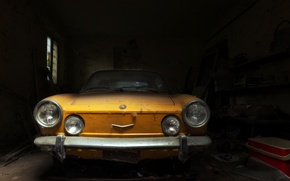 Picture machine, scrap, Fiat