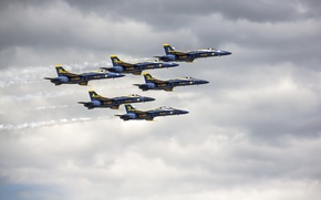 Picture Blue Angels, Rhode Island, Air Show