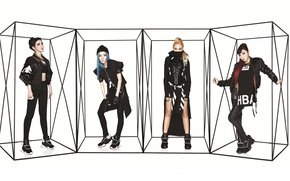Picture music, girls, Asian girls, South Korea, 2NE1, K-pop
