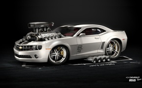 Picture Car, Hot Rod, Chevrolet Camaro, American Muscle