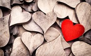 Picture love, heart, heart, love, heart, hearts, wooden, wooden