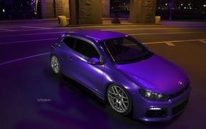 Picture machine, purple, Volkswagen, photographer, auto, photography, photographer, Alex Bazilev, Alexander Bazylev, Alexander Bazilev