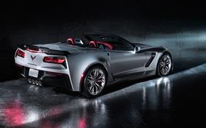 Picture car, Chevrolet, Corvette, Convertible, The Corvette Z06