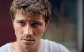 Picture look, portrait, actor, Garrett Hedlund
