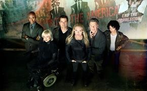 Picture the series, Face, Olivia Dunham, Anna Torv, Fringe, actors, Peter Bishop, Season 5, John Noble, …
