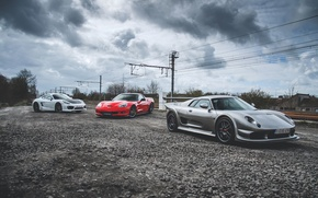 Picture Porsche, Corvette, ZR1, Noble, Cayman S, M12, GTO3