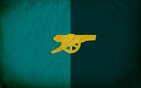 Picture background, logo, emblem, gun, Arsenal, Arsenal, Football Club, the gunners, The Gunners, football club
