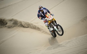Picture Sand, Race, Motorcycle, Racer, Rally, Dakar