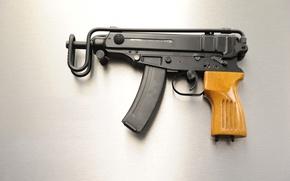 "Picture the gun, ""Scorpio"", Czech, Vz. 61"