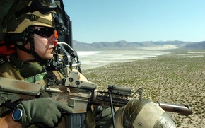 Picture soldier, military, watch, US Army, Door