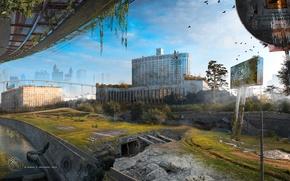 Picture the city, Apocalypse, Moscow, devastation, pustosh, Skolkovo-St.Petersburg II