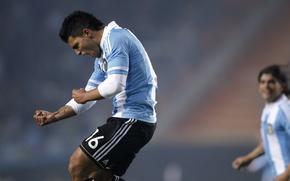 Picture football, football, argentina, kun aguero, copa amerika 2011, aguero