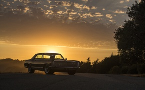 Picture 1965, sunset, buick, riviera