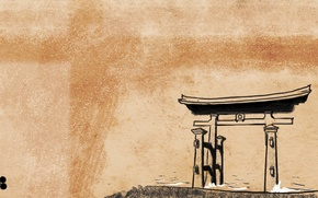 Picture Japan, Shinto, Japanese style, torii