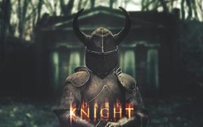 Picture forest, darkness, Wallpaper, the darkness, dark, helmet, light, wallpaper, knight, knight