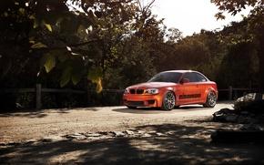 Picture orange, BMW, BMW, orange, 1 series, E82