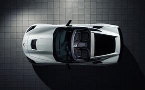 Picture Corvette, Chevrolet, white, roadster, Stingray