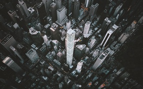 Picture the city, skyscrapers, USA, New York, skyscrapers