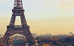 Wallpaper France, Paris, Eiffel tower, Paris, France, Eiffel Tower