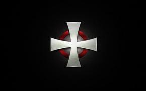 Picture cross, the Templars, knights, order, templar