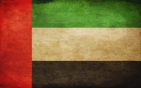 Picture flag, UAE, flag, UAE