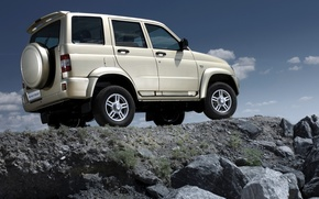 Picture background, SUV, the roads, car, 4x4, off-road, Rover, Uaz, UAZ, UAZ patriot sport