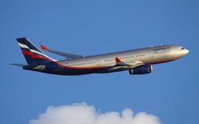 Picture aviation, Wallpaper, Aeroflot, A330, Airbus