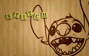 Picture cinema, Disney, monster, alien, movie, film, animated movie, Lilo & Stitch