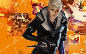Picture cyberpunk, capcom, remember me, adrift, Olga Frydman