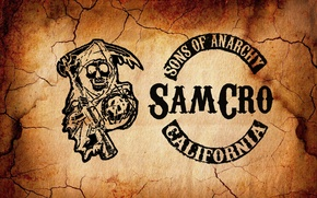 Picture children, logo, the series, logo, sons of anarchy, serial, samcro, anarchy, sons, sons