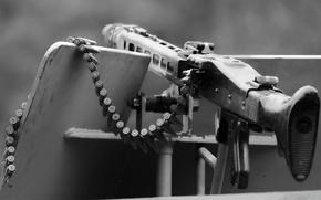 Picture weapons, MG-42, machine gun, butt, tape cartridges