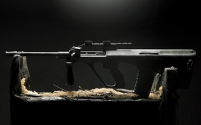 Wallpaper machine, Army Universal Gun, AUG