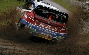 Picture dirt, ford, rally, 2011, rally, wrc, fiesta, JM Latvala