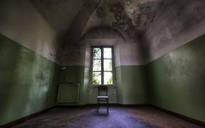 Picture room, interior, window, chair